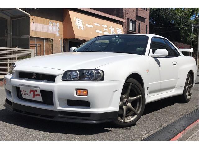 日産 GT-R Vスペック ニスモテール鑑定付 ナビ フルセグTV