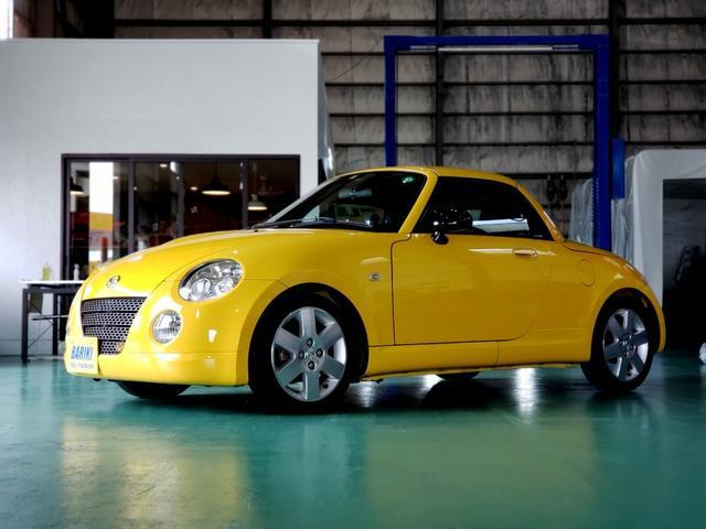 ダイハツ コペン アクティブトップ 5MT HKSマフラー RECAROシート カスタム車 室内展示車両