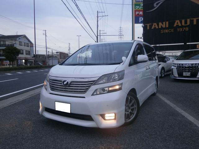 トヨタ 2.4Z プラチナムセレクション OPナビ バックカメラ スマートキー 両側パワースライド パワーゲート