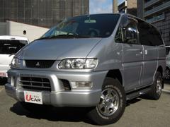デリカスペースギアシャモニー 切替え式4WD コンビレザーシート 寒冷地仕様
