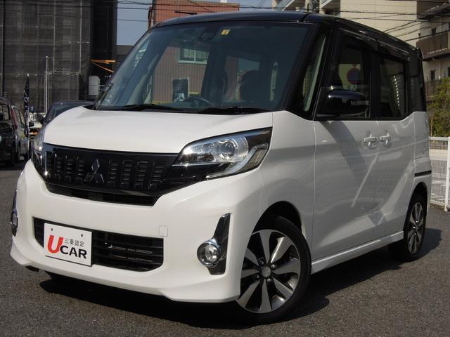三菱 カスタムTe-アシスト 純正ナビTV 両側電動ドア 衝突軽減