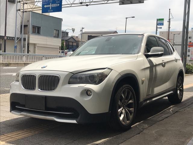 BMW X1 xDrive 25i 4WD スマートキー ポータブルナビ