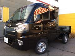 ハイゼットトラックジャンボ 走行4キロ・4WD・5速MT・LEDヘッドライト・LEDフォグランプ・デフロック・荷台作業灯・荷台チェーン・キーレス