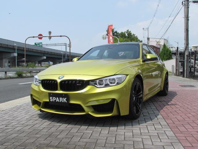 BMW M3ブラックレザー 右H ハーマンカードン