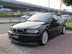 BMW320i 左ハンドル アルピナ純正アルミ&フロントスポイラー