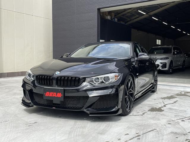 BMW 4シリーズ 420iグランクーペ ラグジュアリー BEAMコンプリートカー/フルエアロ/ローダウン/BEAM20インチAW/ブラックレザー/アクティブクルーズコントロール/PDC/Bluetooth/ミラーETC/シートヒーター/パワーシート