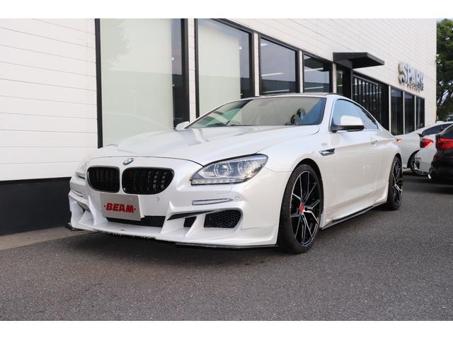 BMW 6シリーズ 640iクーペBEAMコンプリートカーLEDブラウン革SR