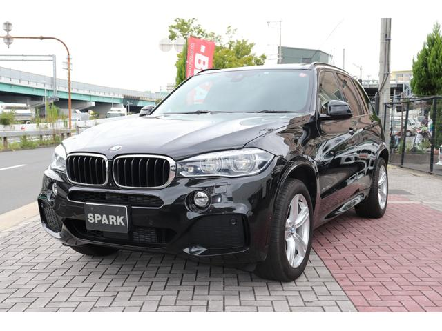 BMW X5 xDrive 35d Mスポーツ セレクトパッケージ ワンオーナー ブラックレザー LEDヘッド 後席モニター 7人乗り ACC ソフトクローズ パワーリアゲート 360度カメラ アンビエントライト