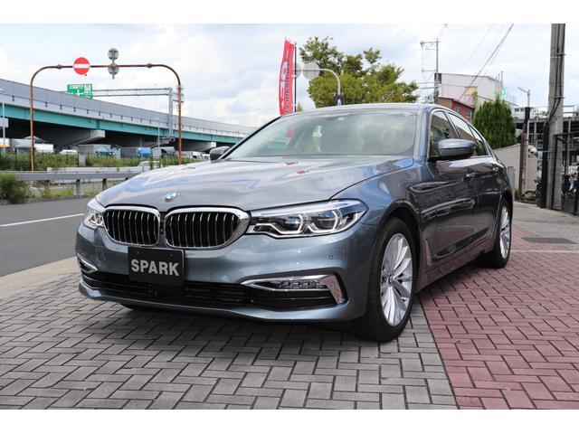BMW 5シリーズ 523iラグジュアリー 正規ディーラー車/ブラックレザー/全席シートヒーター/リアガラスフィルム/HDDナビ/フルセグ/全周囲カメラ/ACC/レーンキープアシスト/衝突軽減ブレーキ/コンフォートアクセス/オートトランク