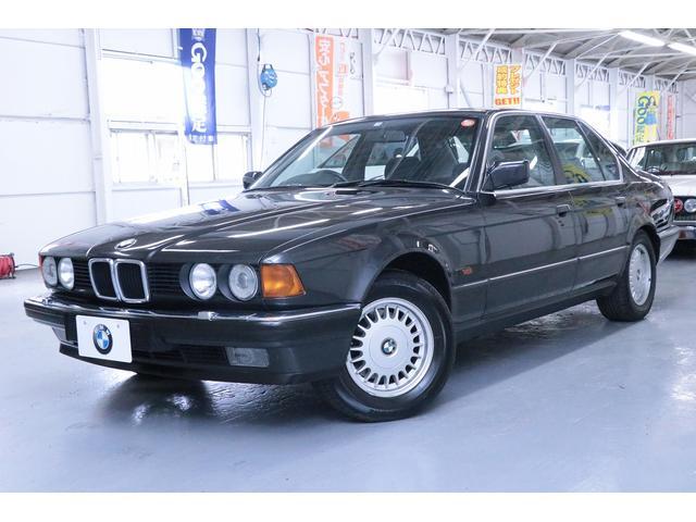 BMW 735i 走行2万キロ ワンオーナー 室内保管