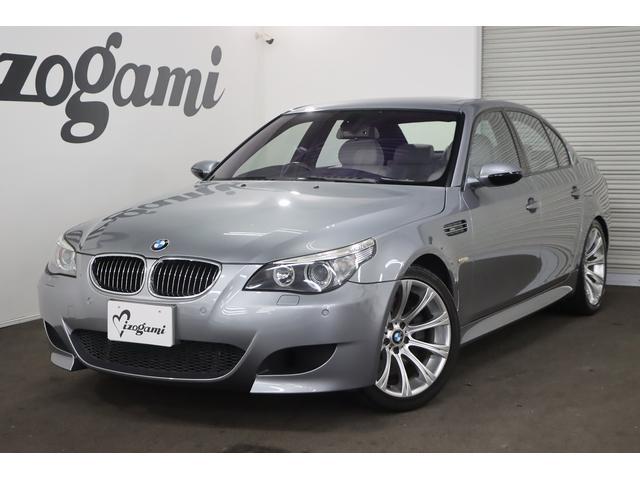 BMW M5 サンルーフ グレー革シート パドルシフト GPSレーダー ETC パークセンサー パワーシート シートヒーター&ベンチレーター 純正ナビ 純正19インチAW