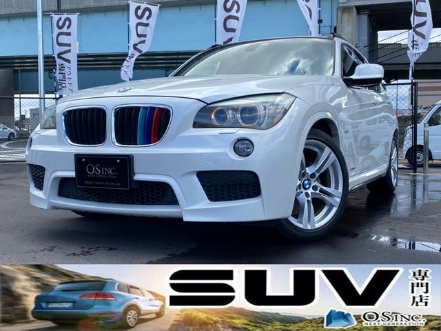 BMW sDrive 18i Mスポーツ 純正エアロパーツ/ディスチャージライト/フォグランプ/オートライト/プッシュスタート/オートエアコン/17インチ純正アルミホイール/アルカンターラコンビシート/ミラー型ETC/バックカメラ/