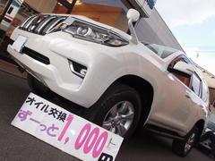 ランドクルーザープラドTX4WDセーフティセンス ルーフレール クリアランスソナー