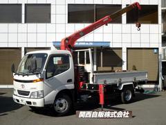 ダイナトラック4段クレーン 2.6t NOX適合