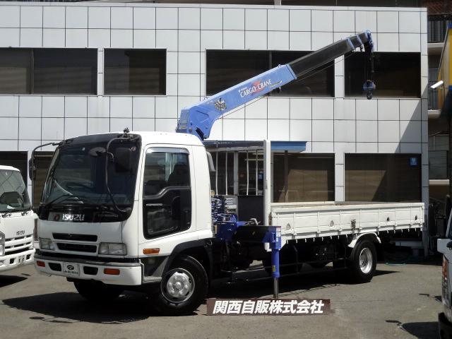 いすゞ 4段クレーン ラジコン 2.75t NOX適合