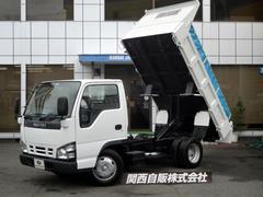 エルフトラック強化フルフラットローダンプ 3t NOX適合