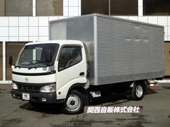 ダイナトラックワイドロングアルミバン 2t NOX適合
