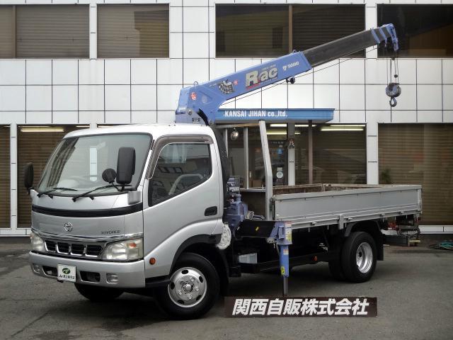 トヨタ 4段クレーン ラジコン 2t NOX適合