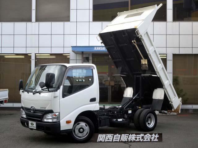 トヨタ フルジャストロー強化ダンプ 2t NOX適合