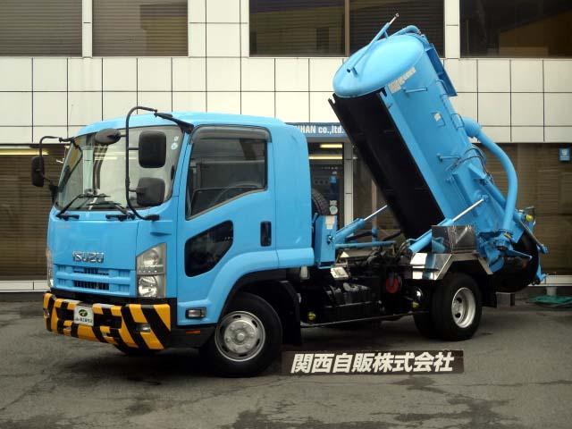 汚泥吸引車 2.84t NOX適合(1枚目)