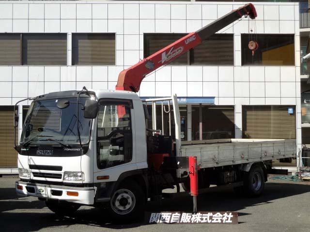 いすゞ 4段クレーン 2.7t NOX適合