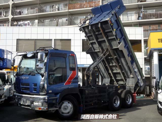 いすゞ ダンプ 9t NOX適合