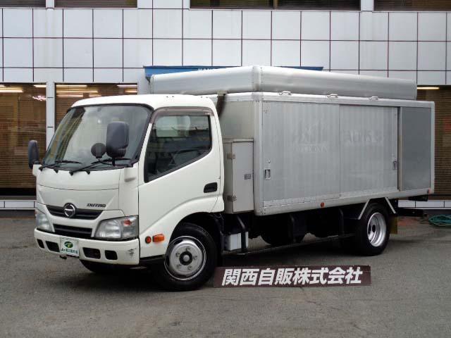 日野  ロングボトルカー 2.95t NOX適合