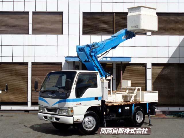 いすゞ エルフトラック  高所作業車 9.9m NOX適合