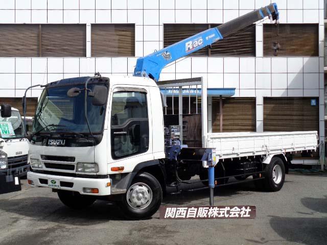 いすゞ  4段クレーン ラジコン 2.85t NOX適合