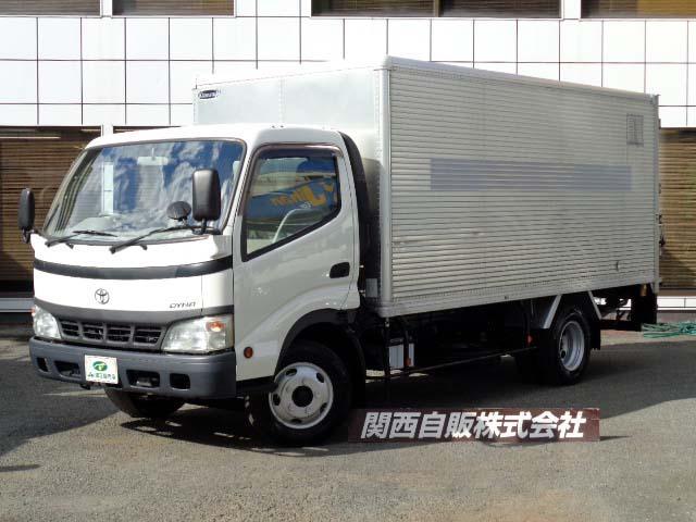 トヨタ ダイナトラック  アルミバンPゲート 2t NOX適合