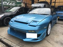 180SX FRPボンネット HID ロールバー ターボ 外品AW