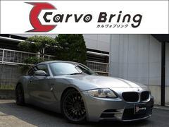 BMW Z4クーペ3.0si 黒革ナビ NKBエアロ 車高調18AW