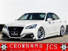 クラウンJタイガー RS−G レオンハルト20AW 本革 モデリスタ