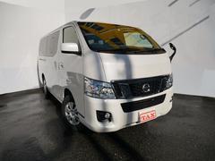 NV350キャラバンバンロングプレミアムGXターボ 純正TVナビ フルセグ 4WD