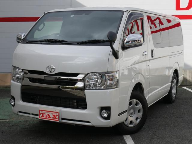 トヨタ スーパーGL ダークプライムII トヨタセーフティセンス/LEDヘッドライト/ベッドキット/純正ナビ/メーカーオプションバックカメラ/ビルトインETC
