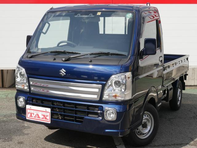 スズキ キャリイトラック KX 5速マニュアル/パートタイム4WD/デュアルカメラサポート/純正HIDヘッドライト/ワンオーナー/パワーウィンド/キーレス/保証継承渡し/フロアマット・バイザー付