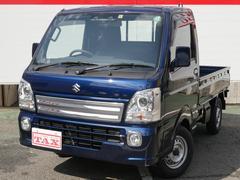 キャリイトラックKX パートタイム4WD/デュアルカメラサポート/純正HIDヘッドライト/ワンオーナー/パワーウィンド/キーレス/保証継承渡し/フロアマット・バイザー付