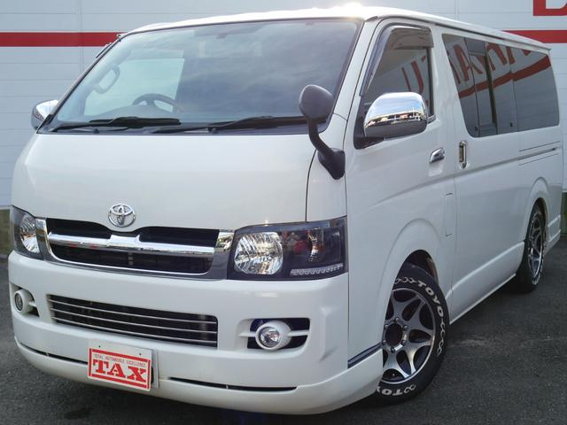 トヨタ ロングスーパーGL ベッドキット/ナビ・バックカメラ/ETC/16インチアルミ&トーヨーH20/助手席エアーバック/構造変更済み(車高)