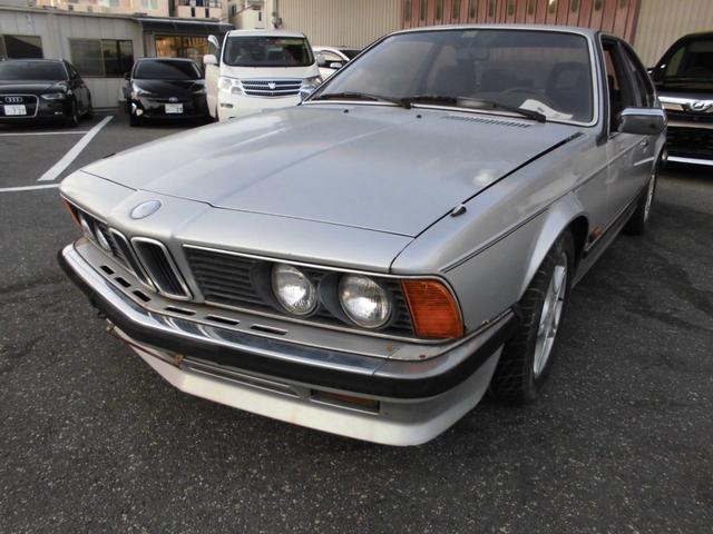 BMW 633CSi レストアベース