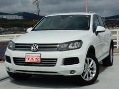 VW トゥアレグV6 ブルーモーションテクノロジー アップグレードP 禁煙車
