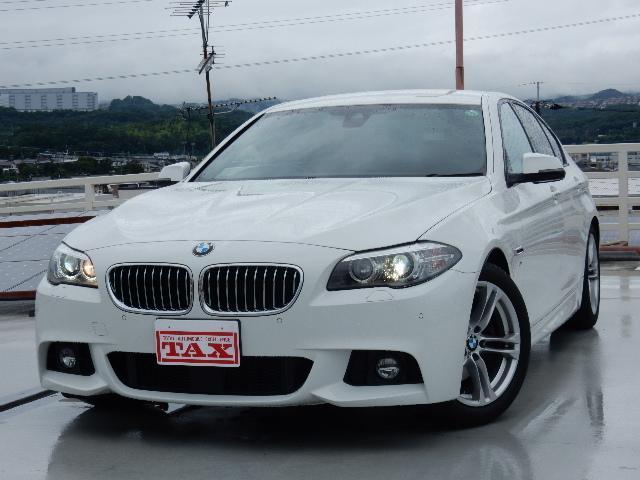 BMW 523dMスポーツ マルチディスプレイメーターパネル ACC