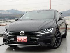 VW アルテオンRライン 4モーションアドバンス 黒革シート 1オナ 禁煙車