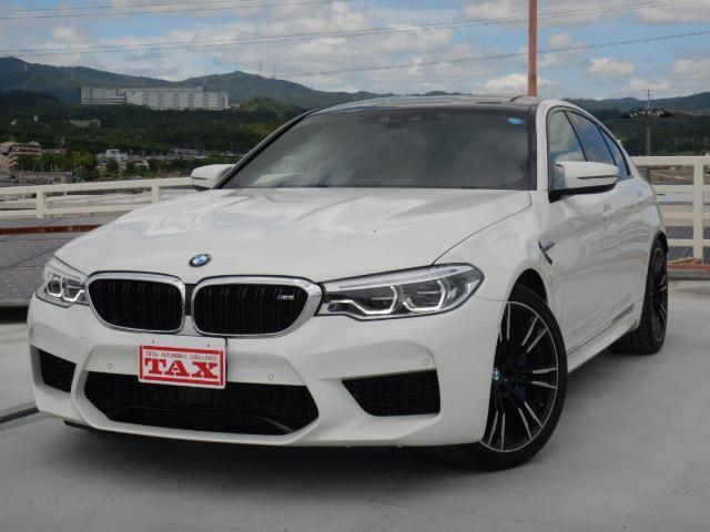 BMW M5 xDrive コンフォートPKG 右H 1オナ 禁煙車