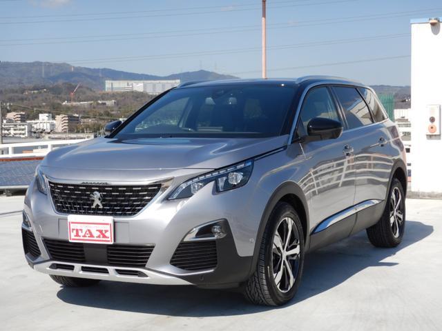 プジョー 5008 GTライン ブルーHDi 特別仕様車 Carplay/AndroidAuto対応タッチスクリーン 純正フロアマット 登録済未使用車
