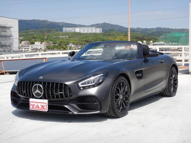 メルセデスAMG GT ロードスター ナイトエディション 全国限定5台 右ハンドル フルレザー仕様 AMGフロアマット 1オーナー 禁煙車