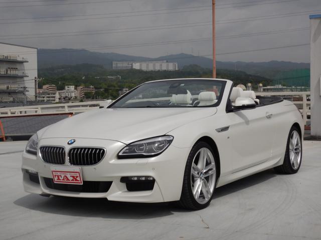 BMW 640iカブリオレ Mスポーツ コンフォートパッケージ ホワイトメリノレザーシート オプション20インチAW 5年BSI 1オーナー 禁煙車