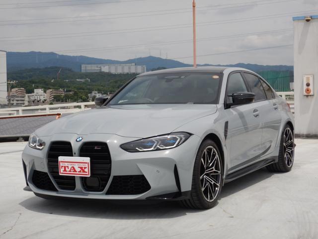 BMW M3セダン コンペティション シートベンチレーション パーキングアシストプラス ヘッドアップディスプレイ 1オーナー 禁煙車