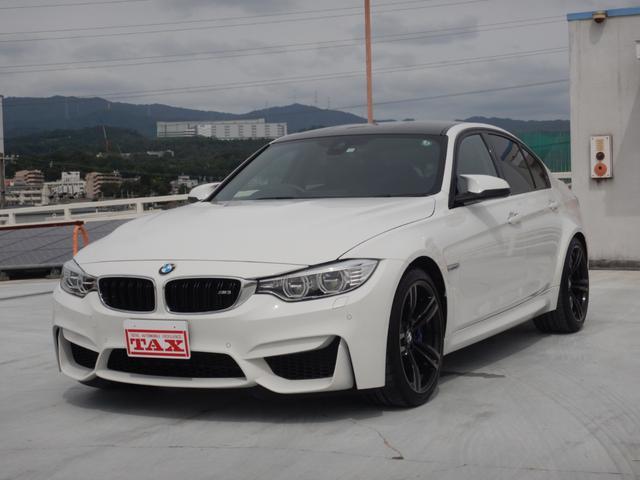 BMW M3 M-DCTドライブロジック アダプティブMサスペンション Mパフォーマンステールライトセット 禁煙車