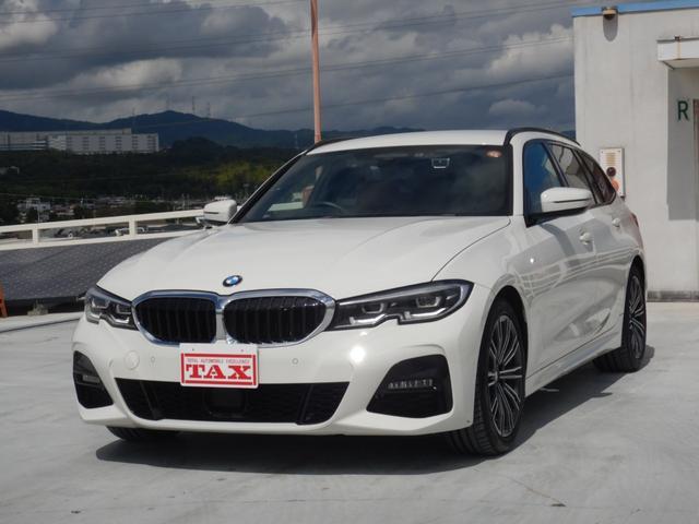 BMW 320dxDriveツーリングMスポーツハイラインP ブラウンレザーシート シートヒーター ALPNEフルセグチューナー パワーバックドア 禁煙車