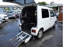 AZワゴンFX スローパー 車いす移動車 福祉車輛